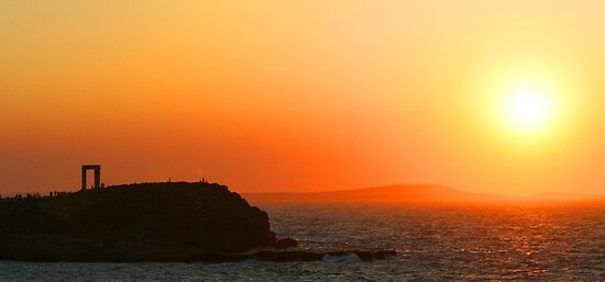 Sunset - Naxos, Greece by David McGilchrist