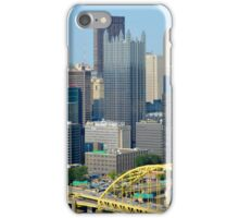 Pittsburgh from Overlook iPhone Case/Skin