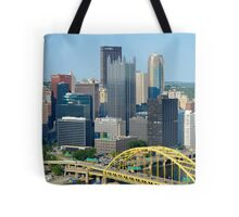 Pittsburgh from Overlook Tote Bag