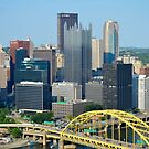 Pittsburgh from Overlook by Jeanie93