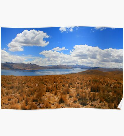 Peruvian Landscape Poster