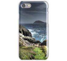 Looking out to Bardsey Island iPhone Case/Skin