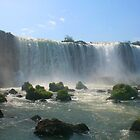 Wall of Water - Landscape, Iguazu Falls by David McGilchrist
