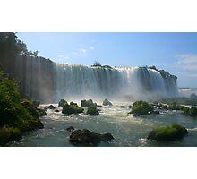 Wall of Water - Landscape, Iguazu Falls Photographic Print