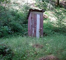 Misplaced Outhouse by Christopher Marcoux