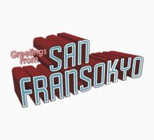 Greetings From San Fransokyo Kids Clothes