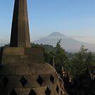 Temple vs Mountain by Arkka Sandhya