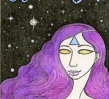 Milky Way Girl #2 by Bethy Williams