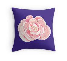 peony purple Throw Pillow