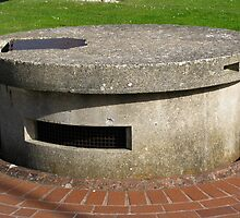 Retractable Pillbox, 1940 by wiggyofipswich