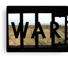 WAR Canvas Print