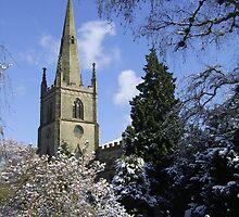 Snow Scene, Warwick, England  by wiggyofipswich