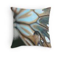 Butterfly Wing Close up! - Buderim Pond, Qld Throw Pillow