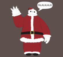Santa Baymax Waving Kids Clothes