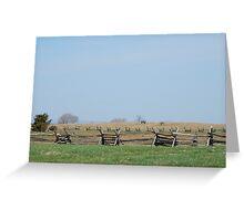 Bloodiest  Battlefield ~ Antietam Greeting Card