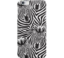 Zebra Couple iPhone Case/Skin