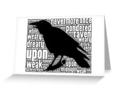 That Raven Greeting Card