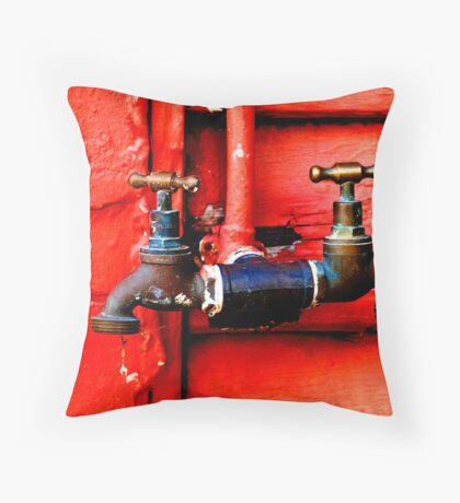 Tapping In Throw Pillow