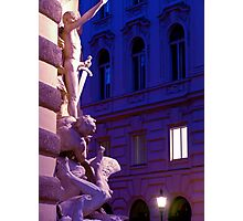 Coloured Vienna Photographic Print