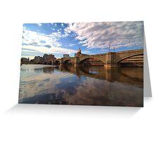 Charles River - Boston Greeting Card