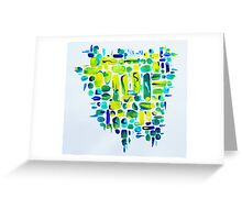 untitled painting IIII Greeting Card