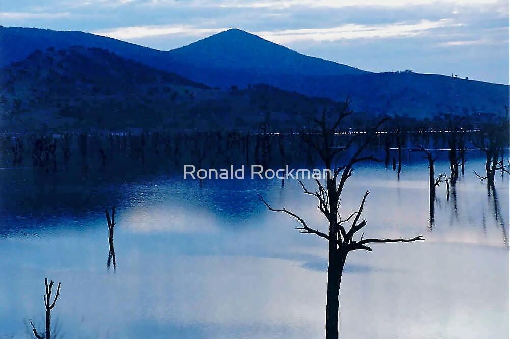 Jinjillec Dam As Night Falls by Ronald Rockman