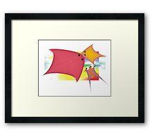"""Enchanted Land Fish"" Framed Print"