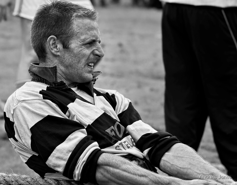 Determination, Irish National Tug-of-war championship, New Ross, County Wexford, Ireland by Andrew Jones