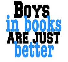 Boys in books by LindeSwi13
