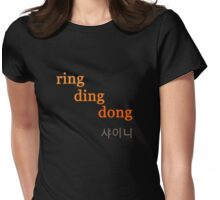 SHINee Ring Ding Dong Womens Fitted T-Shirt