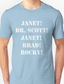 Great Scott! (white) Unisex T-Shirt
