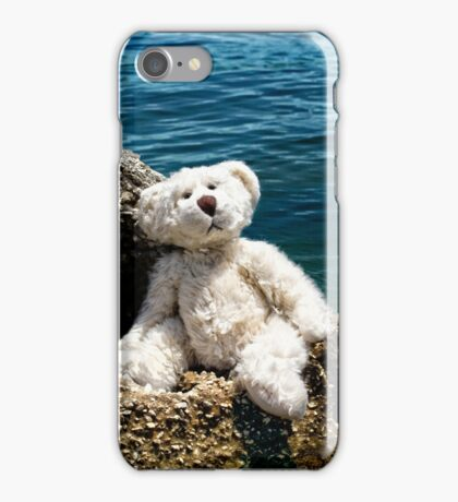 The Philosopher - Teddy Bear Art By William Patrick And Sharon Cummings iPhone Case/Skin