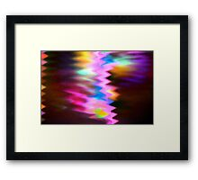 A crack in the universe Framed Print