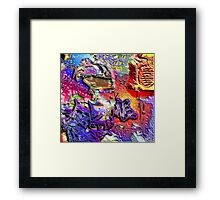 THE GRAFFITI KIDD Framed Print