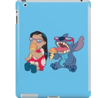 Lilo and Stitch eating iPad Case/Skin