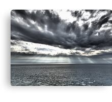 Looking out to the Irish Sea Canvas Print