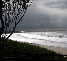 After the storm - Stockton Beach by Penny McAlpine