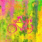 Cat and Bicycle Colours by Vitta