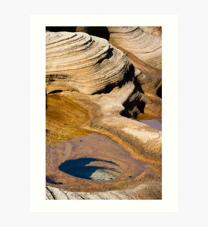 Sandstone Country Art Print