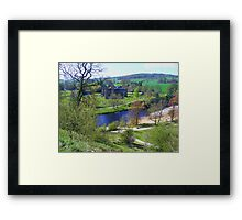 Bolton Abbey fron High Framed Print