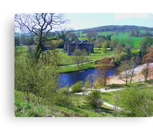 Bolton Abbey fron High Canvas Print