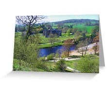 Bolton Abbey fron High Greeting Card