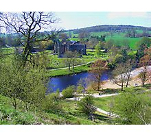 Bolton Abbey fron High Photographic Print