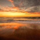 Sunrise In Reflection - Palm Beach, Sydney - The HDR Experience by Philip Johnson