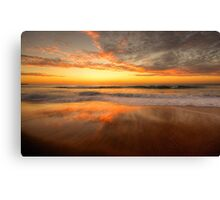 Sunrise In Reflection - Palm Beach, Sydney - The HDR Experience Canvas Print