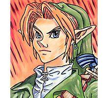 Link - The Legend of Zelda Photographic Print