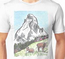 Matterhorn Zermatt, Switzerland Unisex T-Shirt