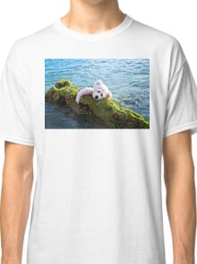Just Hang On - Teddy Bear Art By William Patrick And Sharon Cummings Classic T-Shirt