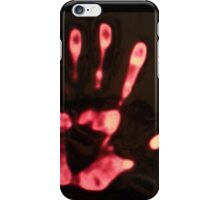 caught red handed iPhone Case/Skin