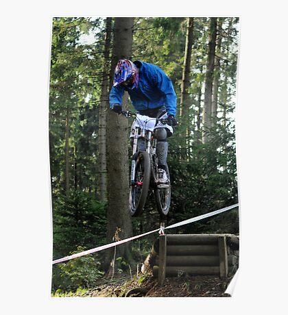 Mountain biking trials Poster